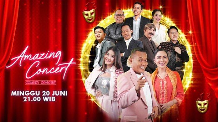 Deretan Komedian dan Musisi Ternama Tampil di Amazing Concert Comedy Concert