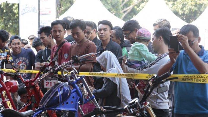 Ratusan Modifikator Adu Kreatif di Honda Modif Contest 2019 Seri Cirebon