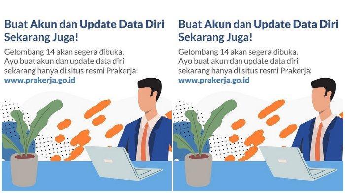 Ditutup Hari Ini: Daftar Kartu Prakerja Gelombang 14 di www.prakerja.go.id, Kuota 600 Ribu Orang