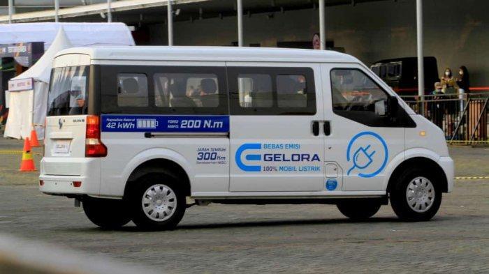DFSK Gelora E Jadi Kendaraan Listrik Niaga Ringan Pertama di Indonesia
