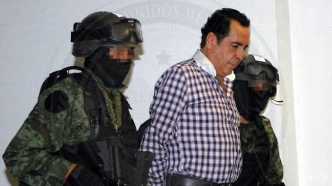 Hector Beltran Leyva, gembong kartel Narkoba Meksiko meninggal pada Minggu (19/11/2018) malam di rumah sakit. (AFP)