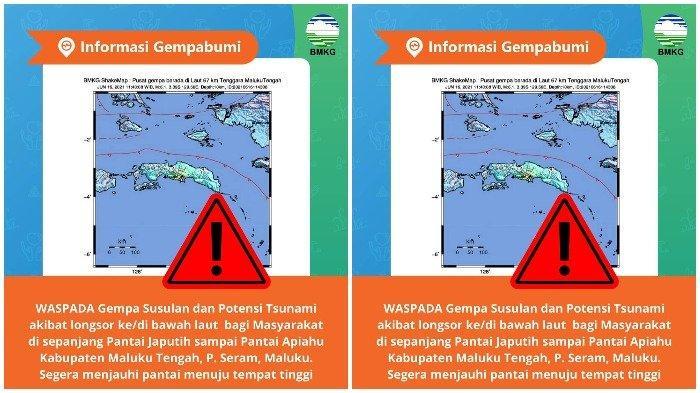 Gempa 6,1 Guncang Maluku, BMKG Imbau Warga Jauhi Pantai: Waspada Gempa Susulan dan Potensi Tsunami