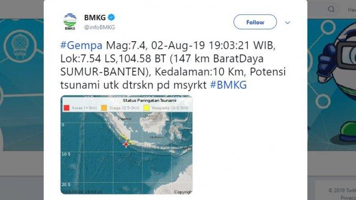 Gempa Magnitudo 7,4 Guncang Banten, Operasional Bandara Soetta Dipastikan Aman