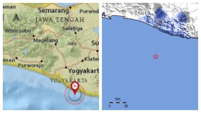 Gempa Kekuatan 4,6 Guncang Gunungkidul Yogyakarta, Terasa hingga Bantul, Wonogiri