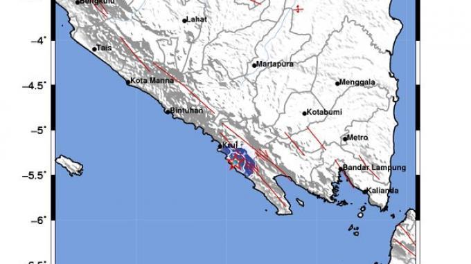Tag Berita Hari Ini Gempa Hari Ini Bmkg Informasikan Gempa Bumi Melanda Lampung Pusat Gempa Di Darat Tribunnews Com Mobile