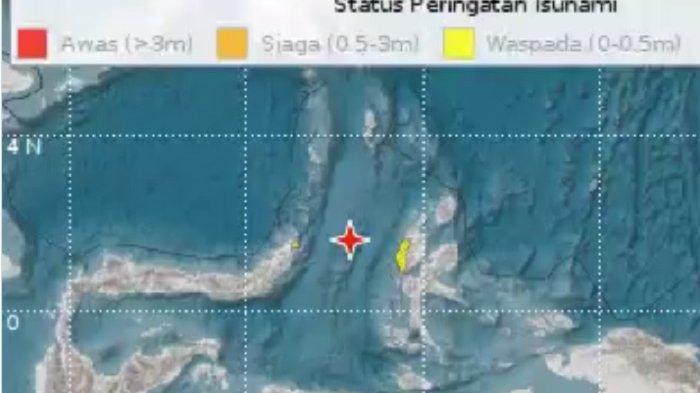 BMKG Jelaskan Penyebab Utama Gempa 7,1 Magnitudo yang Mengguncang Maluku Utara