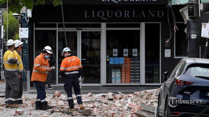 Berita Foto : Gempa Langka Guncang Australia