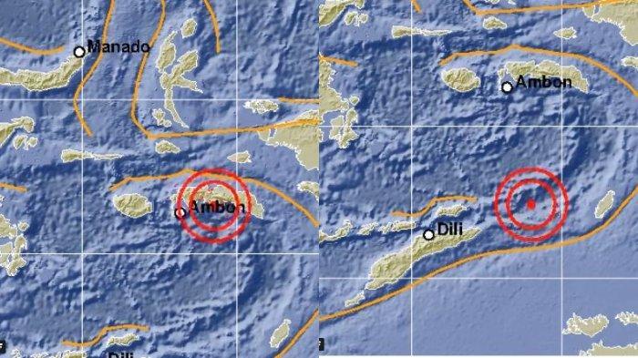 Tiga Bulan Terakhir Maluku Diguncang 392 Kali Gempa