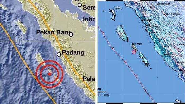 BMKG Pastikan Gempa 5,5 SR di Tuapejat Sumbar Tak Berpotensi Tsunami