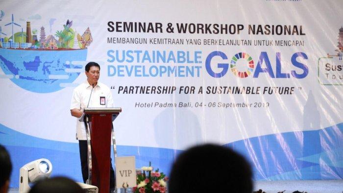 Seminar soal Pembangunan Berkelanjutan dan Tourism Digelar di Bali