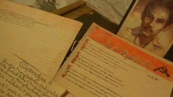 Dokumen milik Muhammad Arief, pengarang lagu Gendjer-gendjer.
