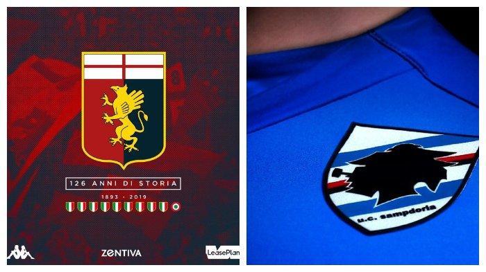Genoa dan Sampdoria Derby Della Lanterna