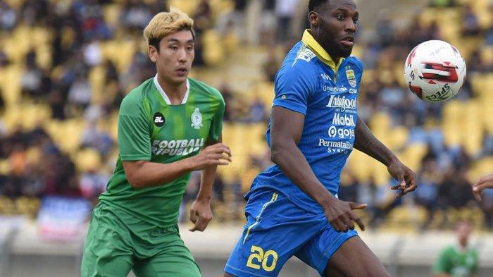 Geoffrey Castillion vs Melaka United Laga Uji Coba pada Sabtu (1/2/2020).