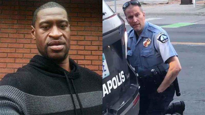 Polisi Pembunuh dan George Floyd Ternyata Pernah Bekerja 17 Tahun Bersama Jadi Satpam