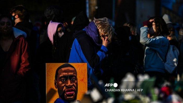Reaksi Pendukung George Floyd saat Dengar Putusan Hakim atas Derek Chauvin: Penuh Air Mata Kelegaan