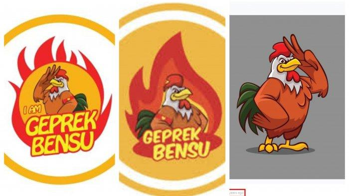 logo geprek bensu diambil dari web grafis gratis