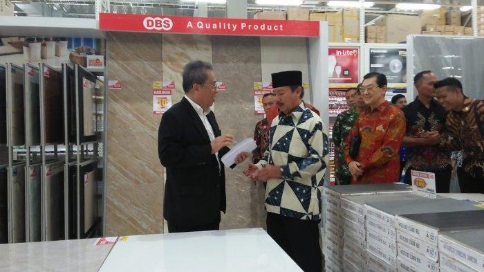 Depo Bangunan Bangun Gerai Baru di Bandar Lampung