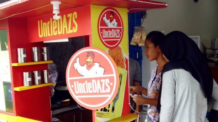 UncleDazs, Usaha Inovatif dengan Variasi Menu Kreatif Ayam Kekinian