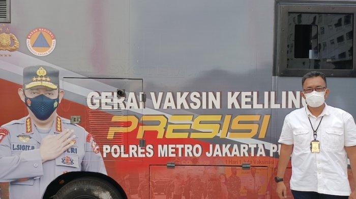 Gerai Vaksin Keliling Presisi: Polres Metro Jakarta Pusat Sediakan 200 Dosis