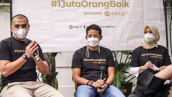 Sandiaga Uno Dukung Gerakan Bersedekah Bersama di Bulan Ramadan