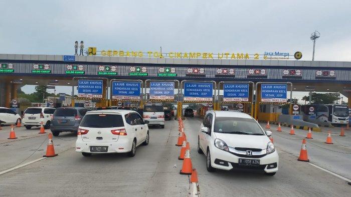 Pecah Rekor di H-4 Lebaran, Pemudik Diminta Putar Balik Tembus 4.003 Kendaraan Via Cikarang Barat