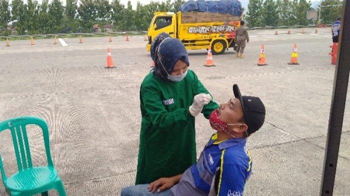 Gerbang Tol Palimanan Sediakan Rapid Test Antigen Gratis