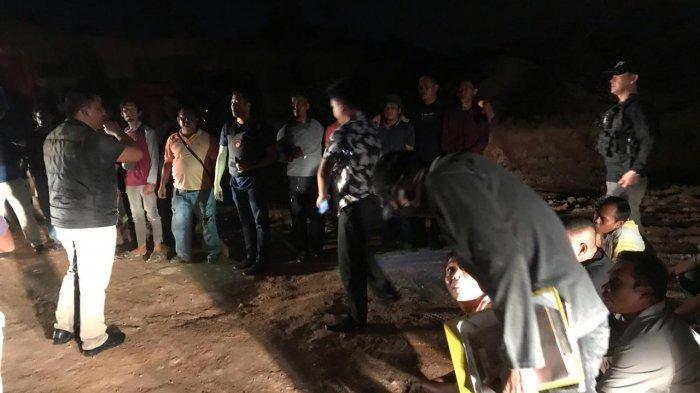 Gerebek Tambang Pasir Ilegal di Nongsa Batam, Polda Kepri Amankan 20 Orang Termasuk Penjual Makanan