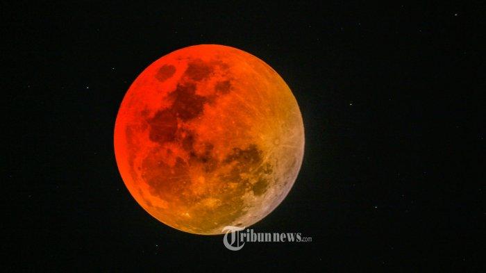 Gerhana Bulan Total Terjadi 26 Mei 2021, Ini Daftar Wilayah yang Bisa Melihat dan Waktu Puncaknya