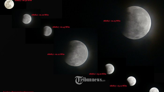 Gerhana Bulan Penumbra 6 Juni 2020: Berikut Waktu Fase Gerhana dan Wilayah yang Dapat Melihat