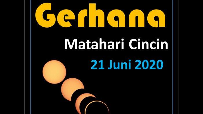 Waktu Terjadinya Gerhana Matahari Cincin di Indonesia, Berikut Daftar Kota/Kabupaten yang Dilewati