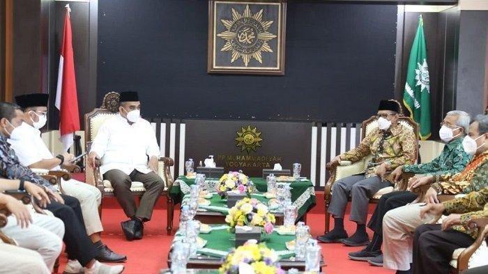 Sekjen Gerindra Sambangi Muhammadiyah, Ini yang Dibahas