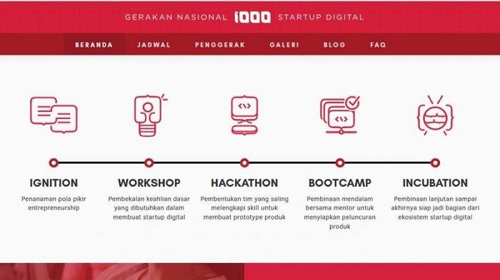 Masuki Tahap Bootcamp, Gerakan Nasional 1000 Startup Surabaya