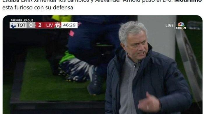 Tottenham Digebuk Liverpool, Jose Mourinho Meledak, Bek Spurs Pilih Tinggalkan Stadion