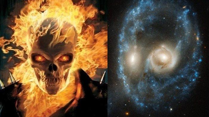 Kumpulan Foto Horor di Luar Angkasa Dibagikan NASA untuk Rayakan Halloween, Ada Mata Bersinar