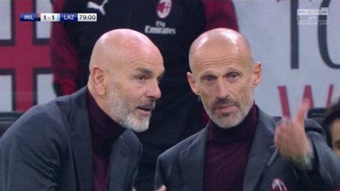 Giacomo Murelli dan Stefano Pioli
