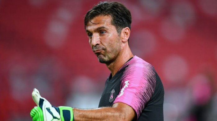 Gianluigi Buffon Incar Rekor di Final Coppa Italia 2020