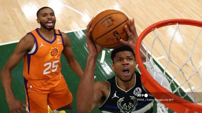 Giannis Antetokounmpo: Sejak Kecil Rajin Bantu Orang Tua Berjualan di Athena, Kini Jadi Juara NBA