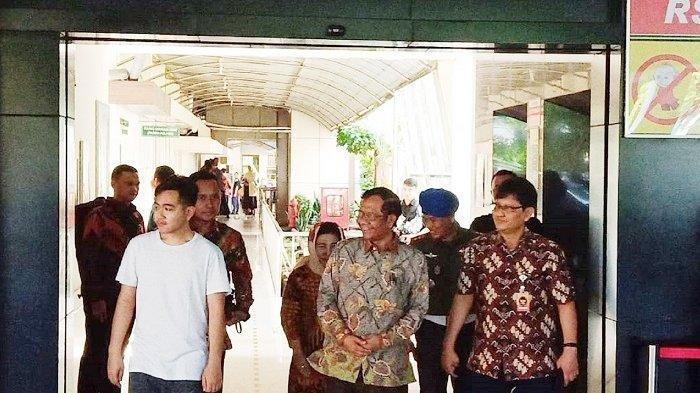 Doa Mahfud MD untuk La Lembah Manah, Cucu Ketiga Jokowi