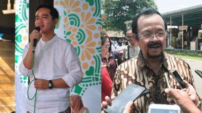 Gibran Rakabuming dan Achmad Purnomo.