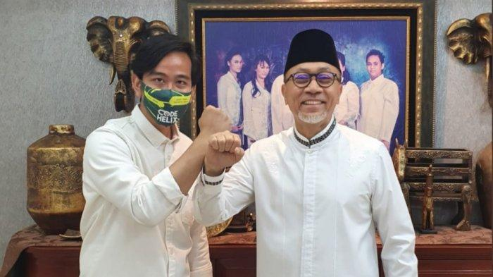 Gibran Rakabuming Raka dan Ketua Umum PAN, Zulkifli Hasan