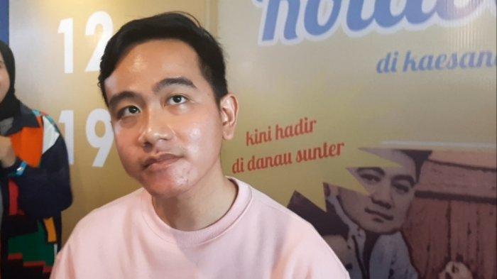 Gibran Rakabuming saat ditemui di Pembukaan Kaesang Gallery di Sunter, Jakarta Utara, Sabtu (7/12/2019).