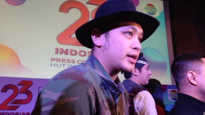 Gilang Dirga ditemui di kawasan Senayan, Jakarta Pusat, Rabu (20/12/2017).