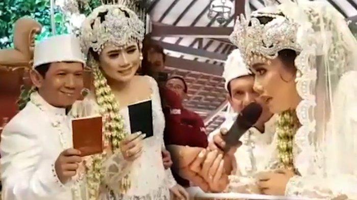Komedian Ginanjar Resmi Menikahi Tiara Amalia, Komar: InsyaAllah Rumah Tangganya Langgeng