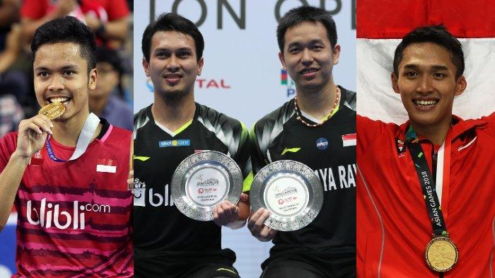 Daftar Wakil Indonesia di Turnamen Malaysia Open 2021, Deretan Beken Bakal Terlibat