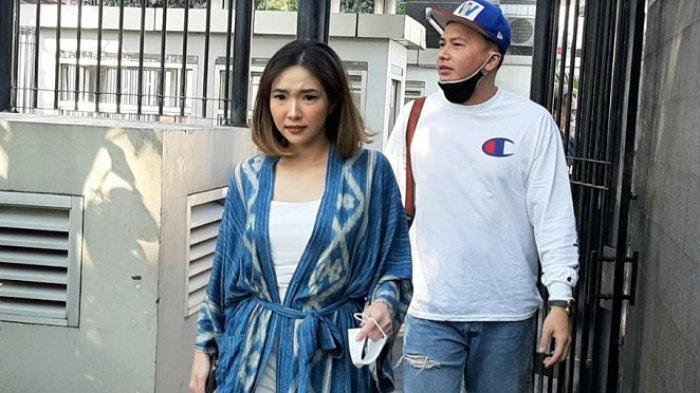 Gisel dan Wijin saat ditemui di kawasan Mampang Prapatan, Jakarta Selatan, Senin (29/6/2020).
