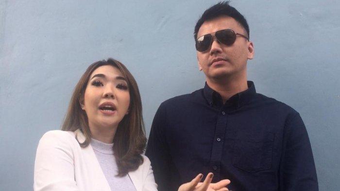 Gisel dan Wijin saat ditemui di kawasan Tendean, Jakarta Selatan, Selasa (4/6/2019).