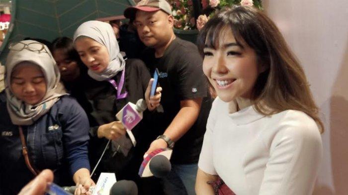 Gisel saat ditemui di Grand Indonesia, Jakarta Pusat, Kamis (5/12/2019).