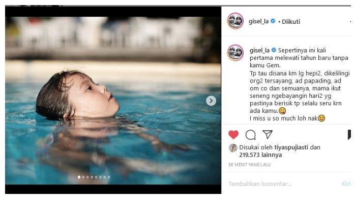 Gisella Ungkap permintaan Maaf pada Gempi