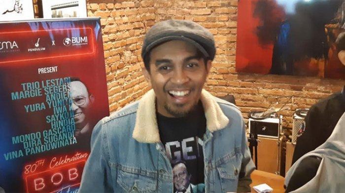 Glenn Fredly saat ditemui di kawasan Blok M, Jakarta Selatan, Senin (25/11/2019).