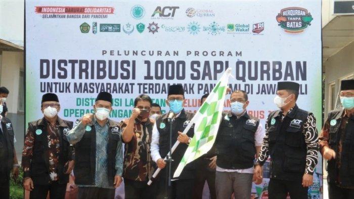 1.000 Sapi Kurban Hadir untuk Masyarakat Terdampak Pandemi di Jawa-Bali